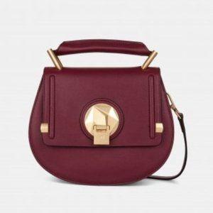 Céline Dion Octave Leather Top Handle Satchel